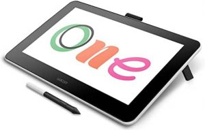 Wacom DTC133W0A One Digital Drawing Tablet with Screen