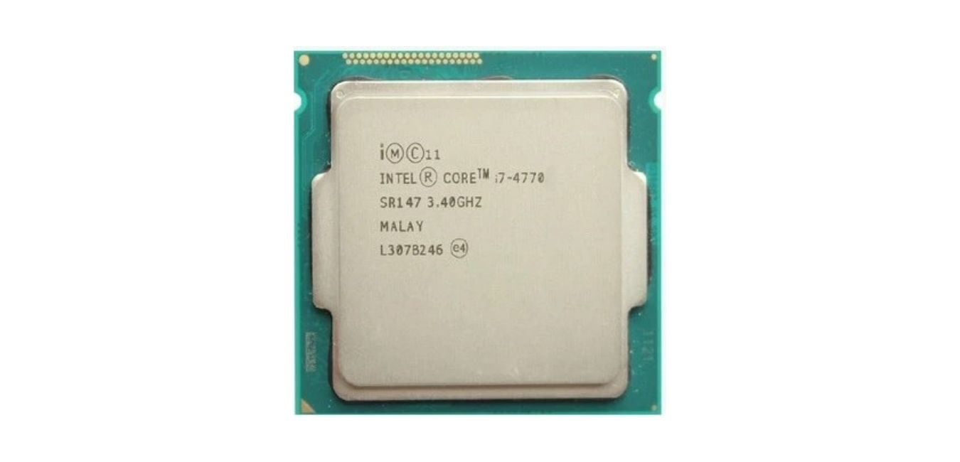 Intel core i74770 Processor