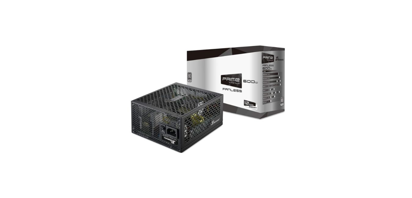 Seasonic PRIME 600 Titanium SSR-600TL 600W Power Supply